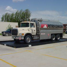 petro truck on berm 10