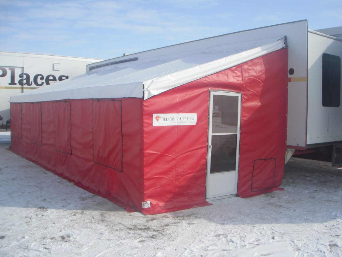 1 & Camper Awnings u0026 Add-A-Rooms - Winkler Covers u0026 Containment