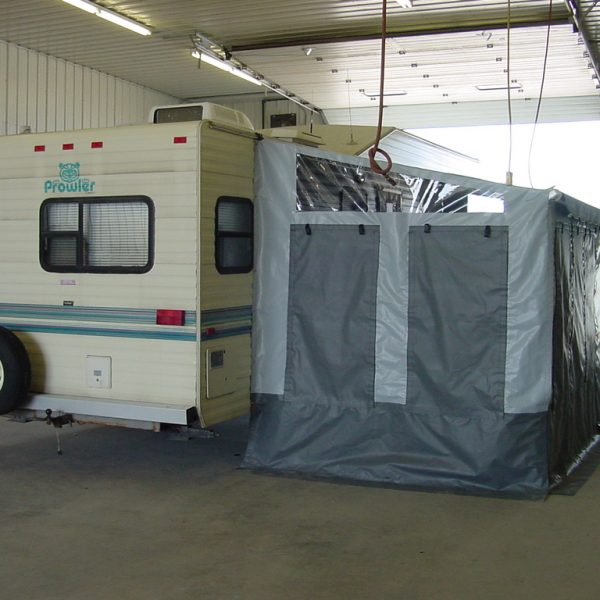 Camper Awnings & Add-A-Rooms - Winkler Covers & Containment