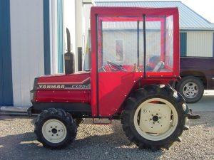 tractor enclosure