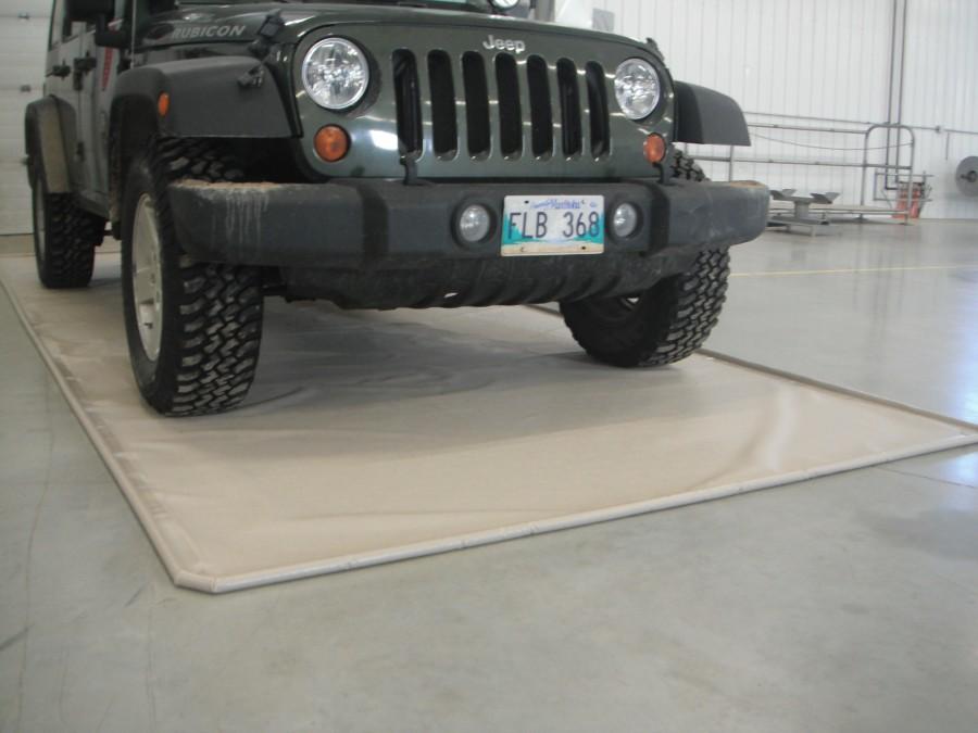 Floor Guard Garage Mat Carpet Review