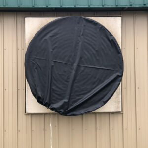 Round Ventilation Fan Cover from Winkler Canvas